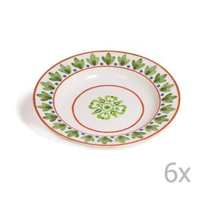 Sada 6 polievkových tanierov Toscana Monteriggioni, 22.5 cm