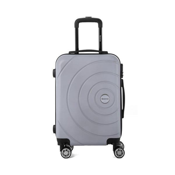 Sada 3 sivých cestovných kufrov Berenice Circle
