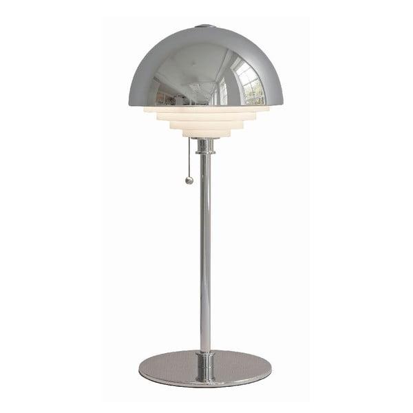 Strieborná stolová lampa Herstal Motown