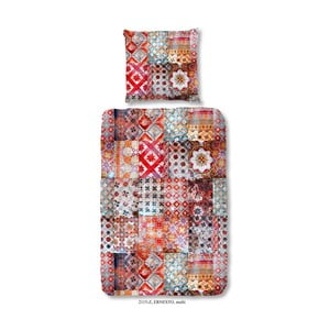 Obliečka na dvojlôžko z bavlneného saténu zouzou Ernesto Multi, 200 x 200 cm
