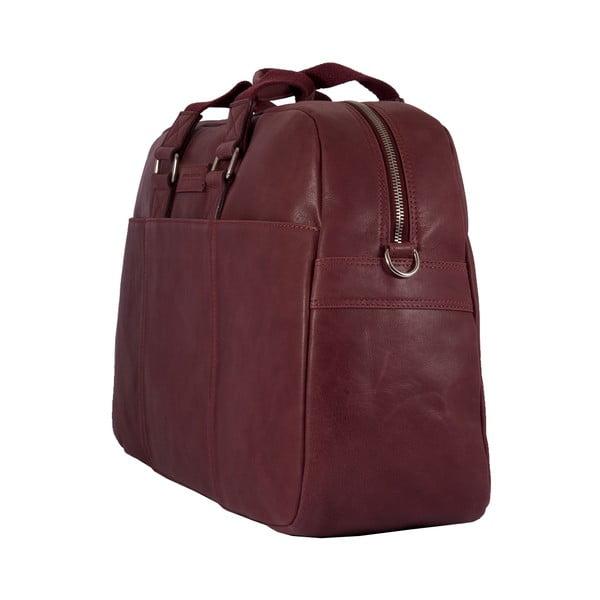 Pánska cestovná taška Vintage Overnight Bordeaux