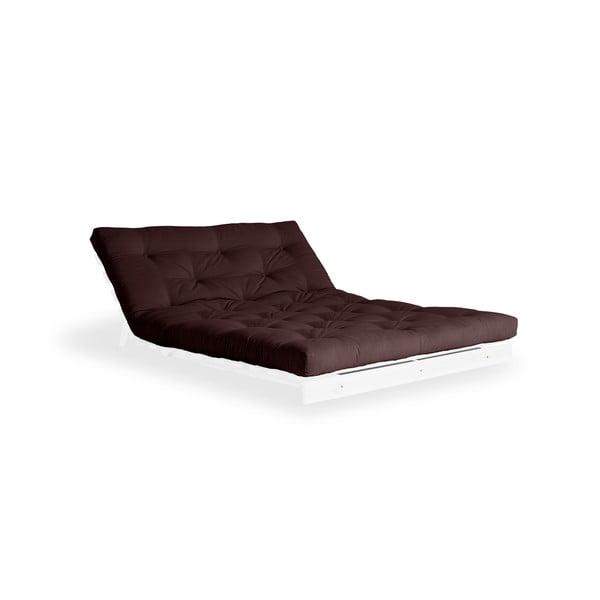 Variabilná pohovka Karup Design Roots White/Brown