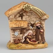 Keramický svietnik s betlehemom Dakls