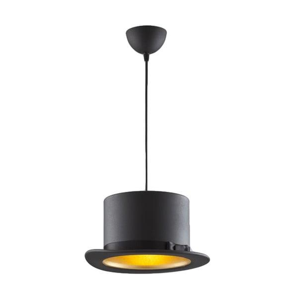 Stropné svetlo Hat Black / Gold