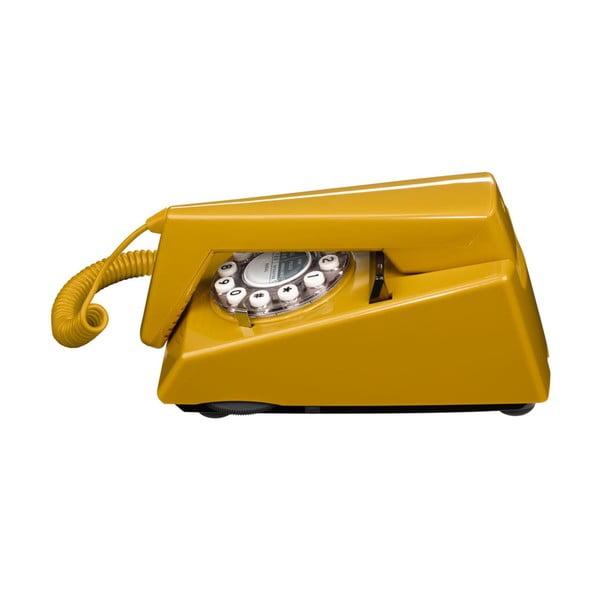 Retro funkčný telefón Trim Old Gold
