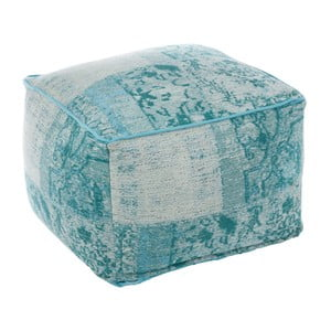 Puf Cotton Aqua, 60x40 cm