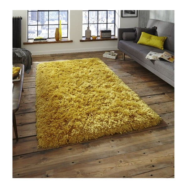 Koberec Think Rugs Polar Yellow, 120 x 170 cm