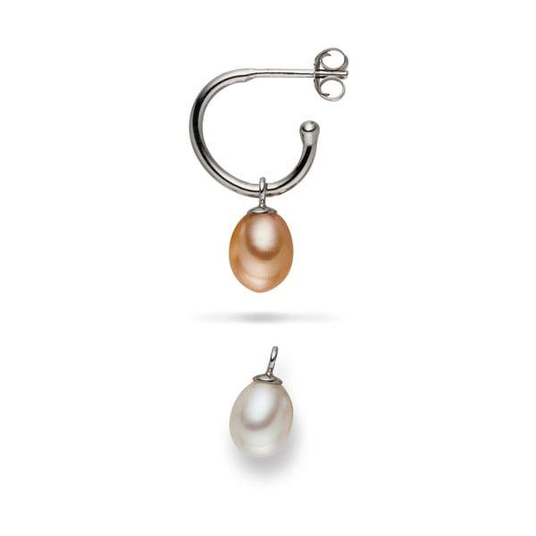 Náušnice Yamato Pearls s vymeniteľnými príveskami Nude Beauty