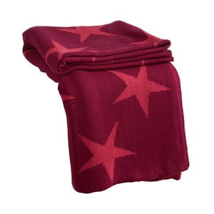 Prikrývka Star Pink, 170x130 cm
