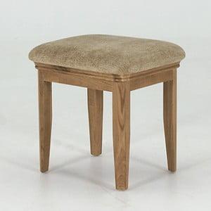 Stolička z dubového dreva VIDA Living Carmen