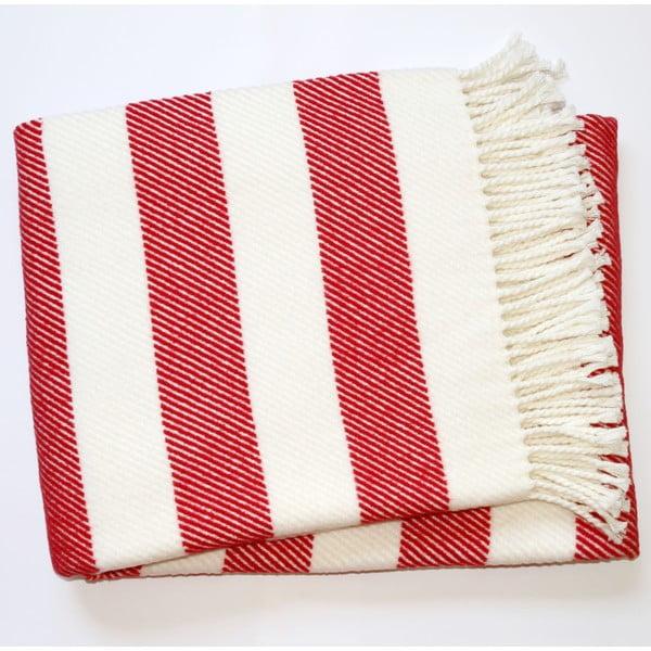 Červená deka Euromant Candy, 140x180cm