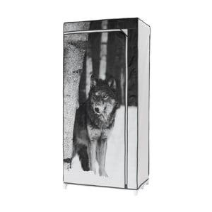 Textilná šatníková skriňa Compactor Wolf