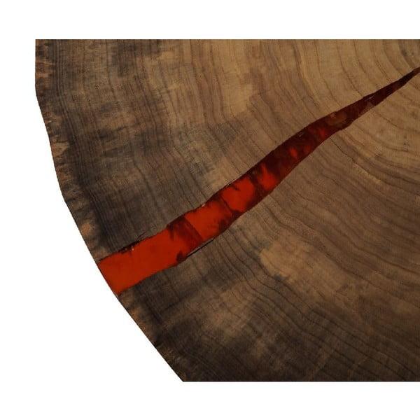 Odkladací stolík Trunk Red
