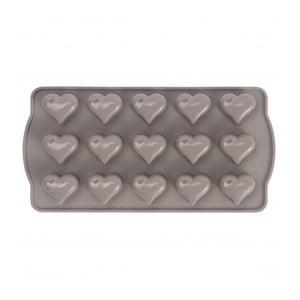 Silikónová forma na bonbóny v tvare srdca Sabichi Cone