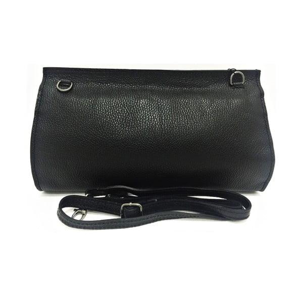 Kožená listová kabelka Naja Black