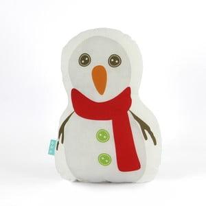 Vankúšik Snowman, 40x30 cm