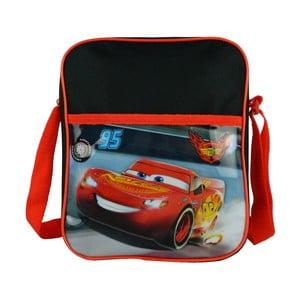 Červeno-čierna detská taška cez rameno Bagtrotter Cars
