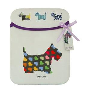 Obal na iPad Santoro London Scottie Dogs Sleeve