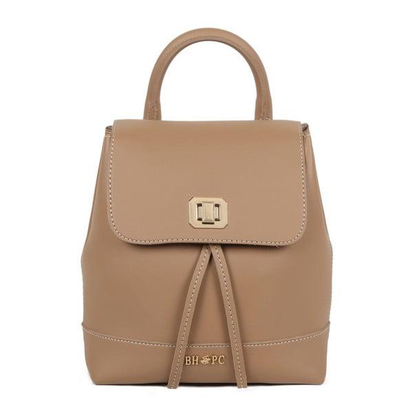 Svetlohnedý batoh z eko kože Beverly Hills Polo Club Polly