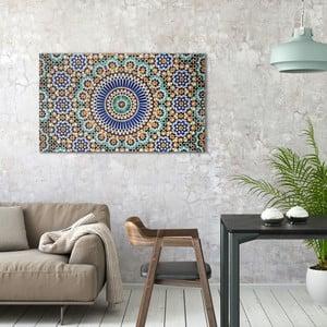 Obraz na plátne OrangeWallz Patern, 70 x 118 cm
