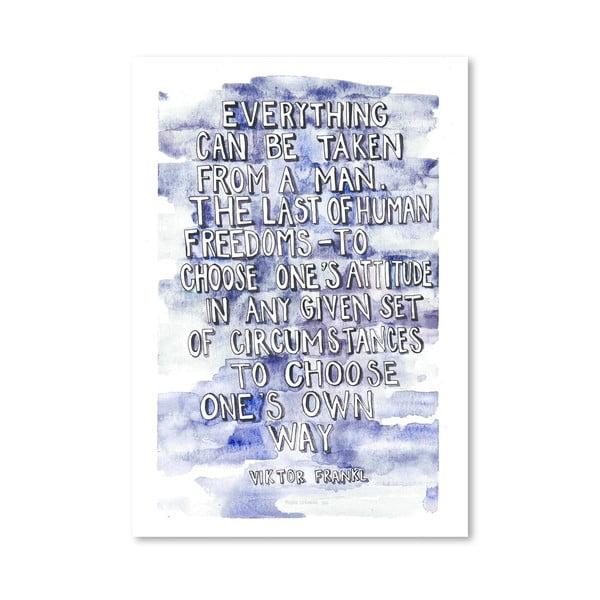 Plagát Viktor Frankl, 30x42 cm