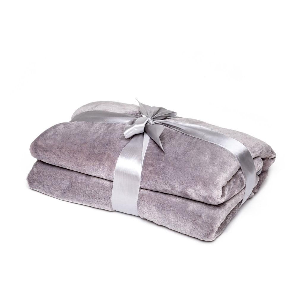 Sivá deka Tarami, 200 × 150 cm