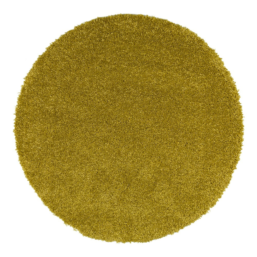 Zelený koberec Universal Aqua Liso, ø 80 cm