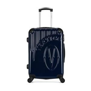 Tmavomodrý cestovný kufor na kolieskach VERTIGO Valise Grand Format Duro, 33 × 52 cm