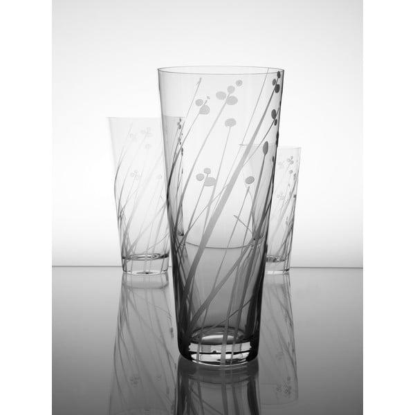 Ateliér Žampach, váza Ľan 20,5 cm
