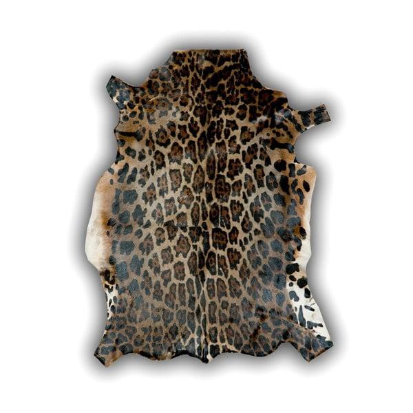 Kožená predložka Panther, 120x90 cm