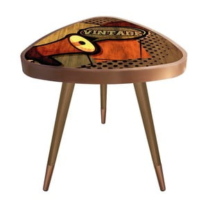 Príručný stolík Maresso Vintage Triangle, 45 × 45 cm