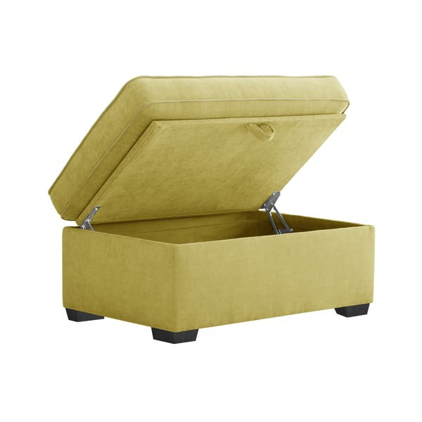 Žltá taburetka Jalouse Maison Serena