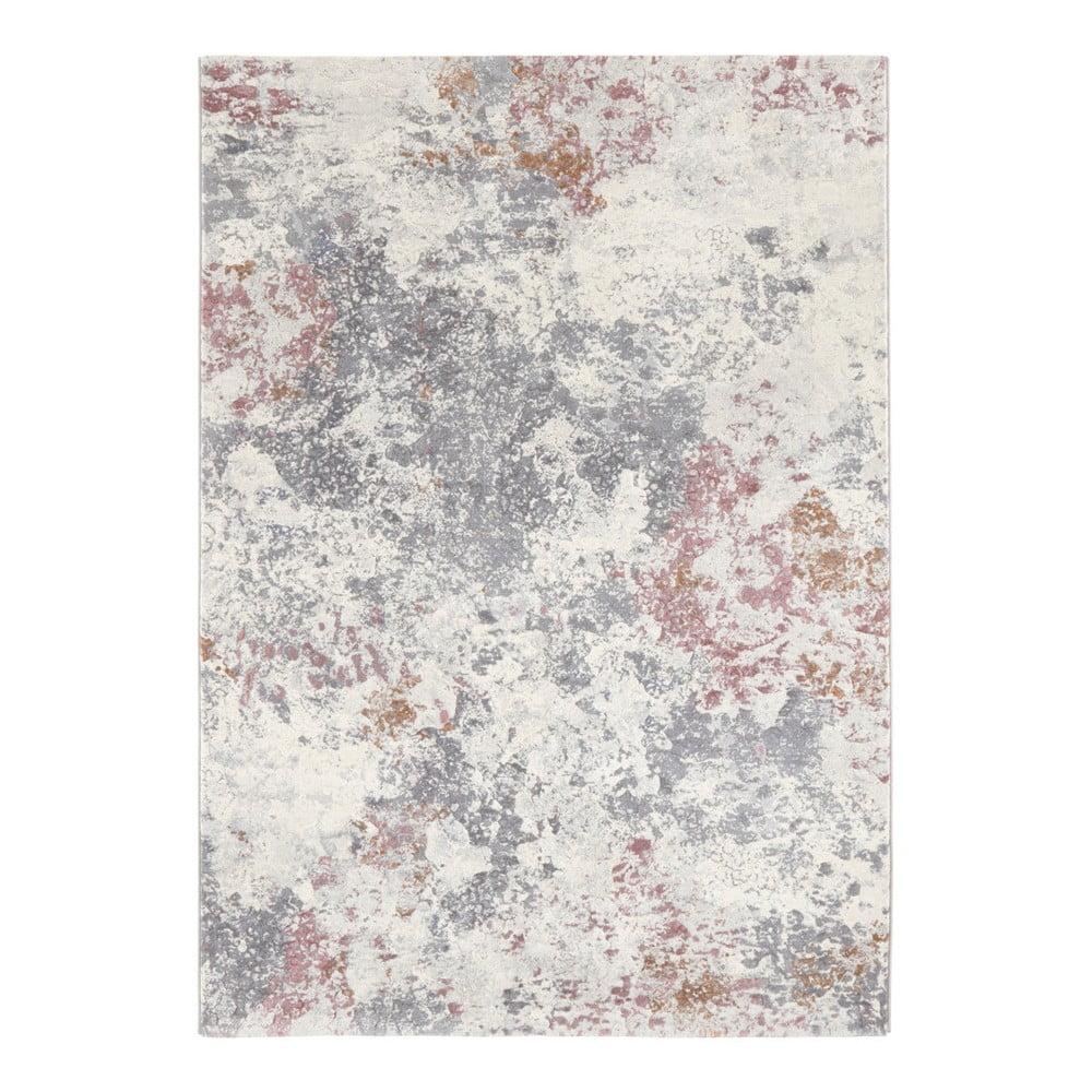 Svetlomodro-sivý koberec Elle Decor Arty Fontaine, 160 × 230 cm