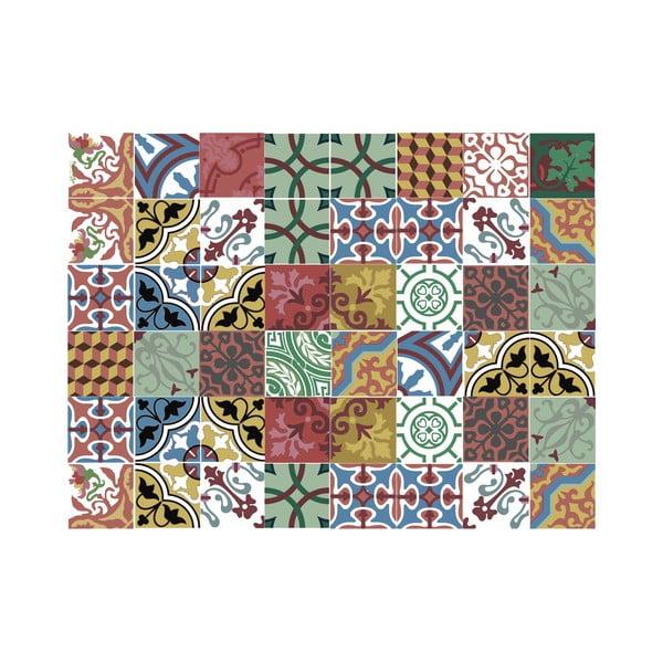 Koberec z vinylu Mosaico Collage, 100x150 cm