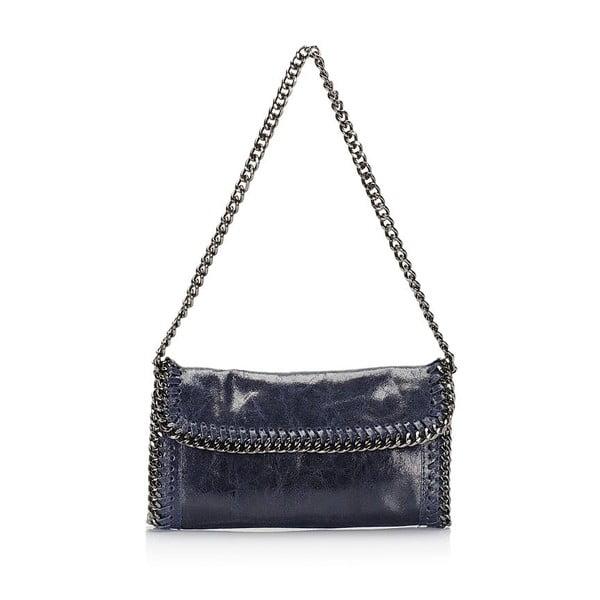 Kožená kabelka Markese 132 Blue