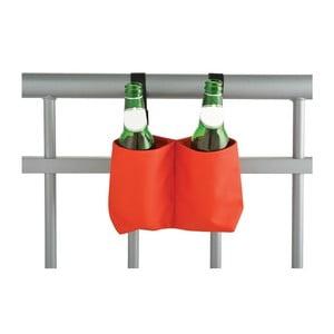 Závesný držiak na fľaše na zábradlie Esschert Design Happy