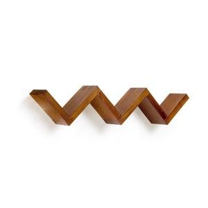 Polica z dreva Mindi Moycor Star, dĺžka 120 cm