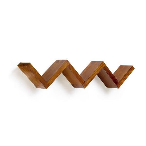 Polica z dreva mindi Moycor Star, dĺžka120 cm