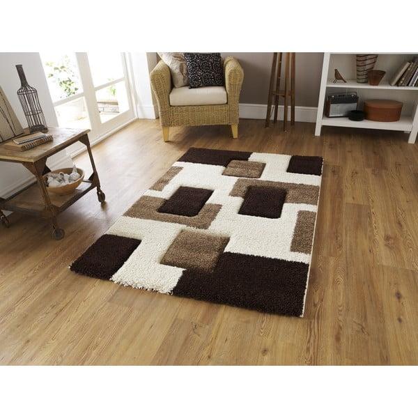 Hnedý koberec Think Rugs Fashion, 120x170cm