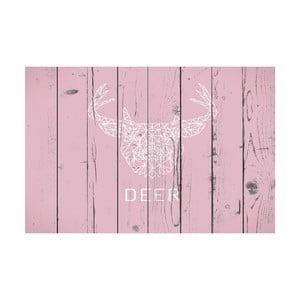 Vinylový koberec Ciervo Rosa, 100x150 cm