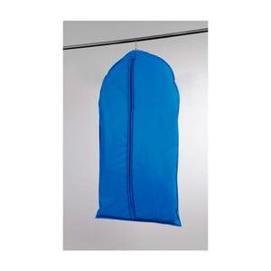 Modrý závesný obal na šaty Compactor Garment Marine, dĺžka 100 cm