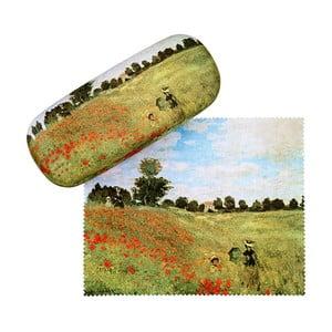 Puzdro na okuliare Von Lilienfeld Field of Poppies