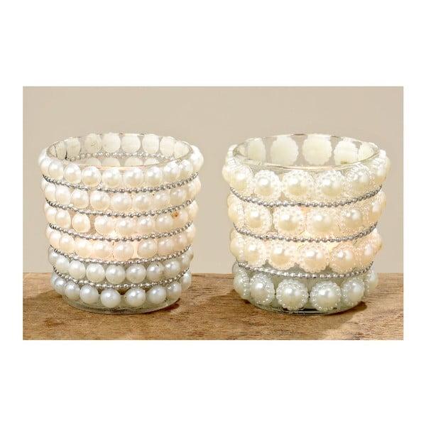 Set 2 svietnikov Pearls