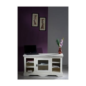 Televízny stolík z mangového dreva SOB Madrid