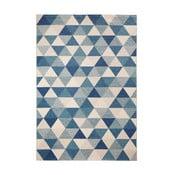 Modrý koberec Mint Rugs Diamond Triangle, 200 x 290 cm