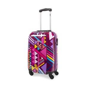 Sada 2 cestovných kufrov v ružovej farbe SKPA-T