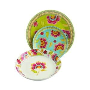 Sada porcelánových tanierov Oriental, 18 ks