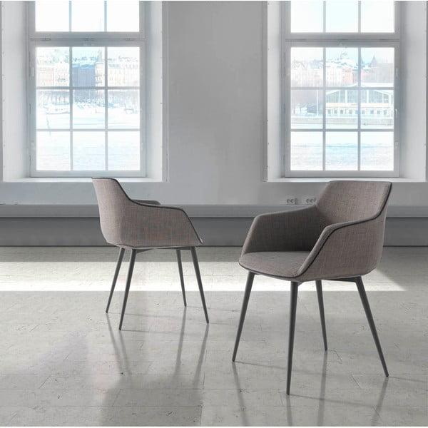 Sivá stolička Ángel Cerdá Sublim