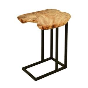 Príručný stolík s doskou z cédrového dreva 360 Living Montanio 722
