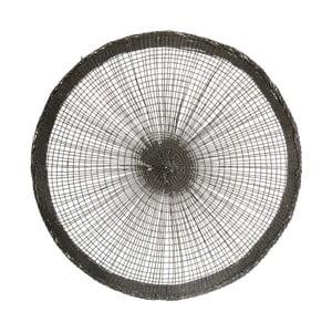 Čierne papierové prestieranie House Doctor Spokes, Ø 38 cm